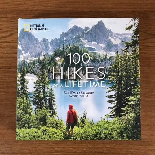 Cover image of '100 Hikes of a Lifetime'